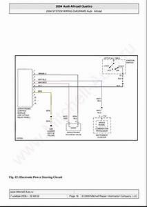 Audi A6 Allroad C5 Quattro Wiring Diagrams Page 16