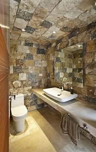 Decoration De Salle De Bain : id es d co salle de bain rustique confort et chaleur en un ~ Teatrodelosmanantiales.com Idées de Décoration