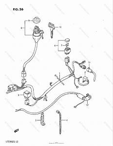 Suzuki Atv 1985 Oem Parts Diagram For Wiring Harness