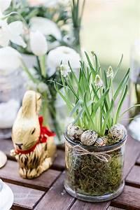 Tischdeko Für Ostern : tischdeko f r ostern in wei und gold dreierlei liebelei ~ Watch28wear.com Haus und Dekorationen