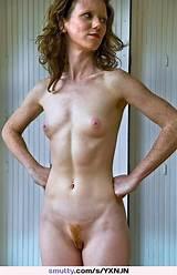 Small tit redhead mom