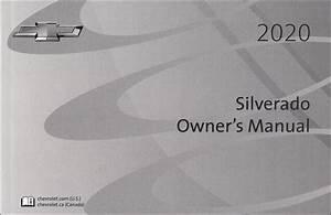 2020 Chevrolet Silverado Pickup Truck Owner U0026 39 S Manual Original