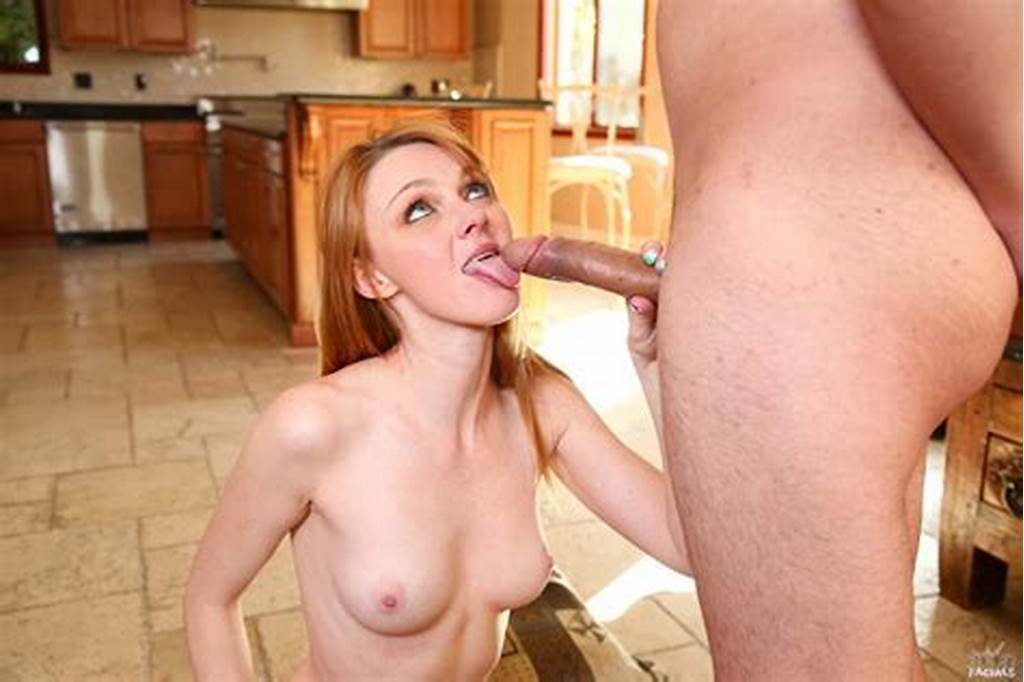 #Sweet #Skinny #Redhead #Marie #Mccray #Loves #Her #Face #Jizzed