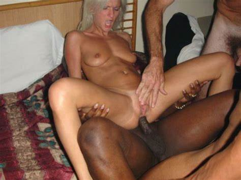 Interracial Sex Getting By A Huge Curly Cock