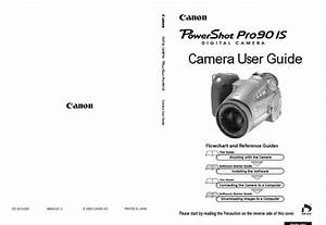 Canon Powershot Pro 90 Is Manual  Owner User Guide And