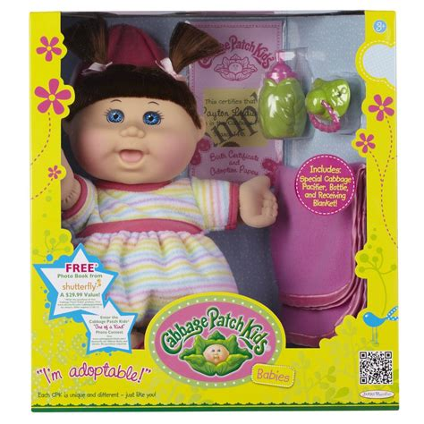 Amazon com: Cabbage Patch Babies Doll Caucasian Girl