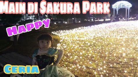 Here is sakura in a before picutre. Mainan Anak AbangDede Episode 007 🤩💜 Mainan Anak || Sakura Park AEON BSD🌸🌸 Bermain di Taman ...