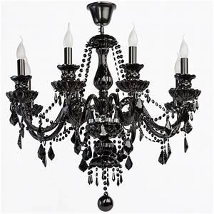 Lustre Baroque Maison Du Monde : lustre gothique pampilles m tal noir 8 clairages luminaires ~ Melissatoandfro.com Idées de Décoration