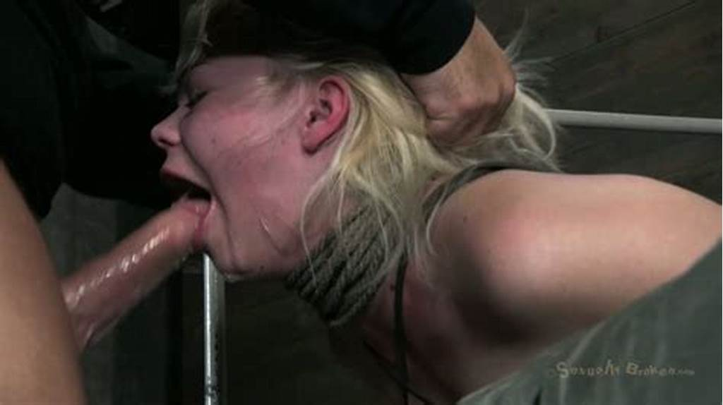 #Bounded #Blonde #Bitch #Alice #Frost #Fucked #Hard #By #Her #Master