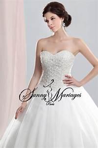 Robe de mariee princesse bustier perle sur mesures for Patron de robe de mariée