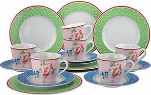 Geschirr Set Vintage : creatable kaffeeservice porzellan vintage 18tlg online kaufen otto ~ Markanthonyermac.com Haus und Dekorationen