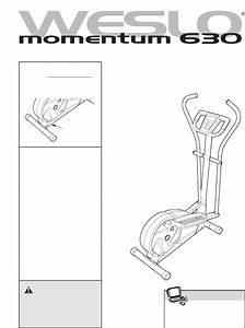 Weslo Exercise Bike Wlel71807 0 User Guide