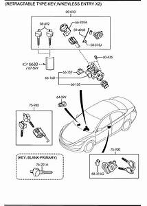 2010 Mazda Mazda 6 Key  Blank