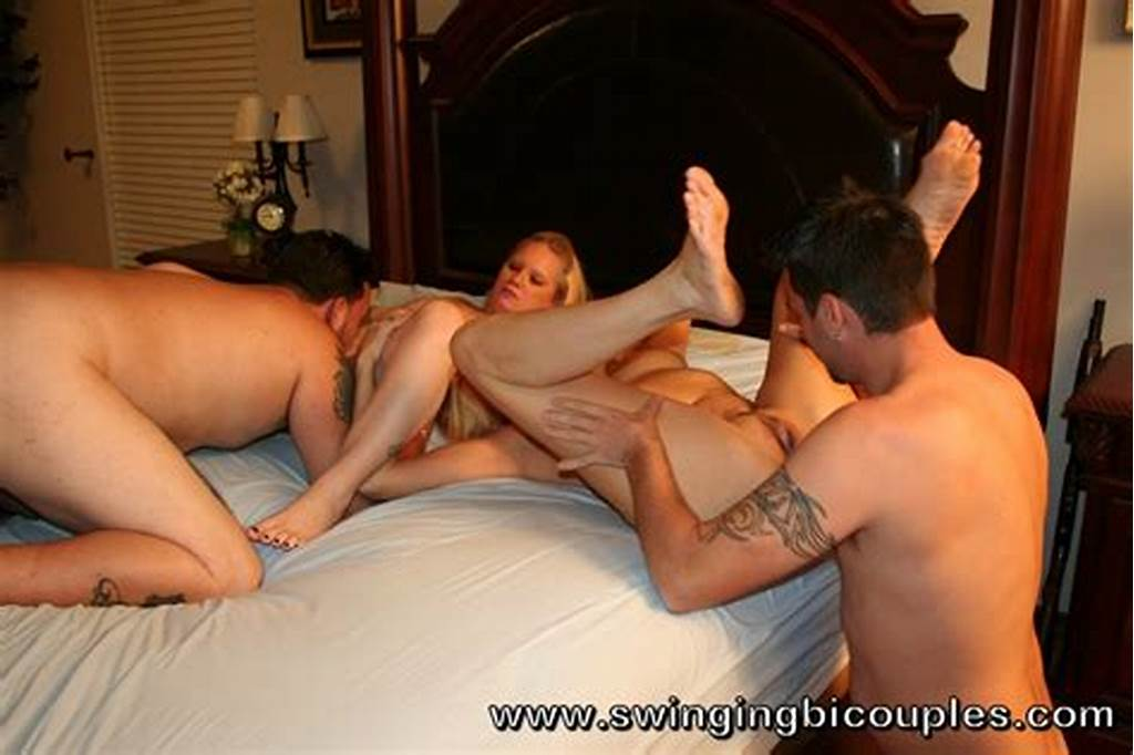 #Two #Swinger #Couple #Have #Bi #Sex #Sharing #Their
