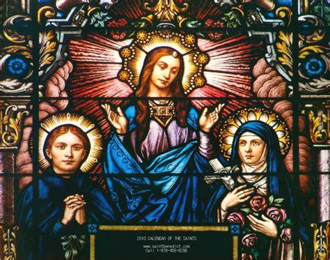 Saint Gemma and The Little Flower Artwork Catholic Art