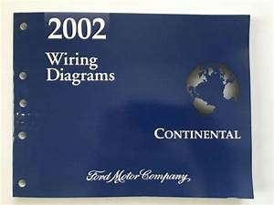 2002 Lincoln Continental Wiring Diagrams Shop Manual Great