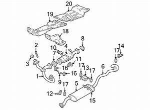 Gmc Sonoma Catalytic Converter Gasket  Front  Upper   1996