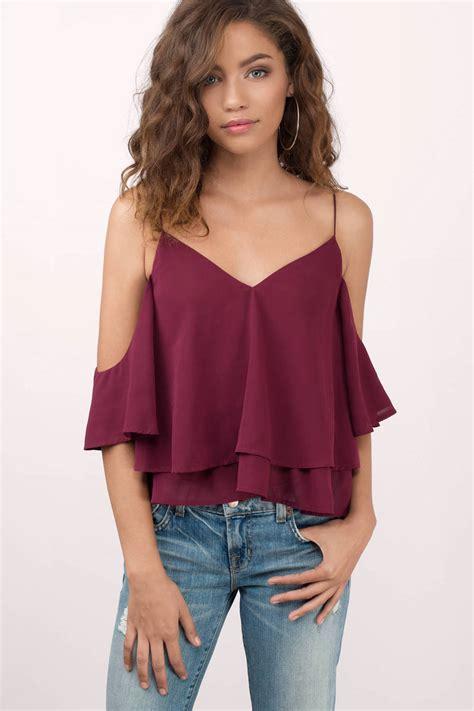 up blouse pics black blouse cold shoulder blouse 48 00