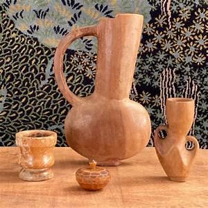 wooden, vases, collection, , u2013, objet, vagabond