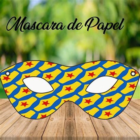 Mascara Mulher Maravilha no Elo7 Brl Flex Festas (D18831)