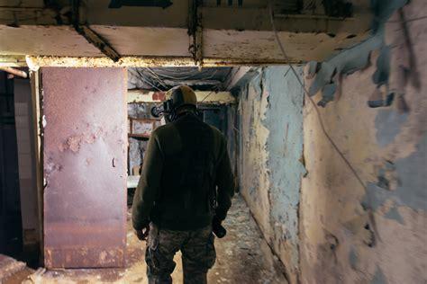 Highly contaminated basement of hospital 126 / pripyatdiscover chernobyl. Day Four