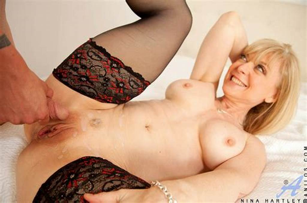 #Nina #Hartley #In #Black #Stockings #Enjoys #Hot #Sex #With #Her