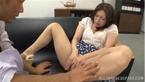 Sultry Teens Secretary Tease Her Tiny Boss To Banged Him #Teacher #No #Panties