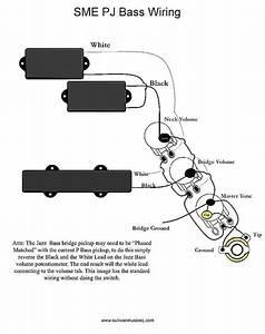Bass Guitar Setup Wire Diagram