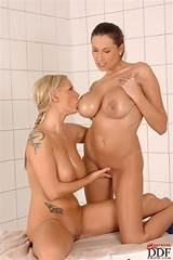 Giant boob lesbian video