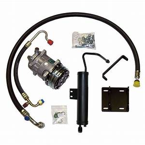 69 Cougar A  C Compressor Upgrade Kit V8 Stage