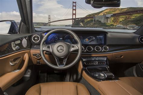 While the character of the e 220 d hasn't substantially changed, that new engine certainly. 2017 high-tech sedans: PHOTOS, FEATURES - Business Insider