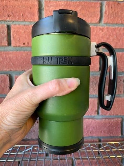 Come stop by for a fresh cup of coffee or an amazing cup of ice coffee to help you cool off. Double Shot Bru-Stop French Press Travel Mug - Green ...