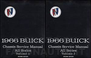 1966 Buick Body Manual Original