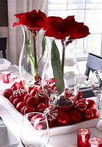christmas, table, centerpieces