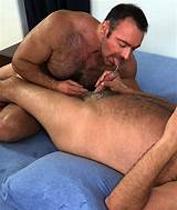 Hairy oral gay men