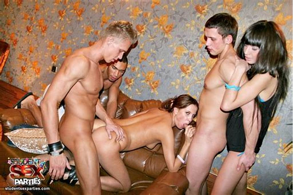 #Dancing #Turns #Into #Wild #Coeds #Threesome #Sex #Party # #College #Girls