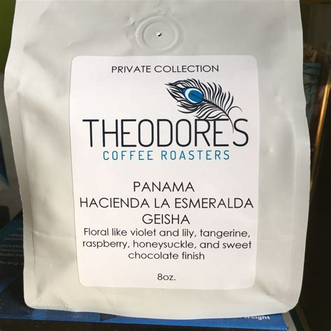 Every coffee in hacienda la esmeralda is picked at the absolute peak of ripeness, and this in combination with esmeralda private collection's high esmeralda private collection is where to look for dependable, consistent geisha coffee quality. Theodore's Coffee Roasters Panama Hacienda La Esmeralda Geisha - KC Coffee Geek