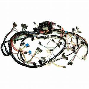 1981 Corvette Wiring Harness  Main Dash  Manual