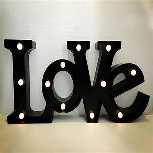 online get cheap adhesive sign letters aliexpresscom With black light up letters