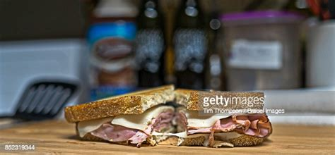 There are 300 calories in 1 sandwich of kwik trip ham & swiss on sourdough. Grilled Ham Swiss On Sourdough High-Res Stock Photo - Getty Images