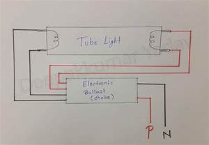 Deepakkumar Yadav  Tube Light Wiring Connection With