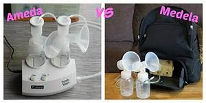 Ameda Purely Yours Double Electric Breast Pump Vs Medela