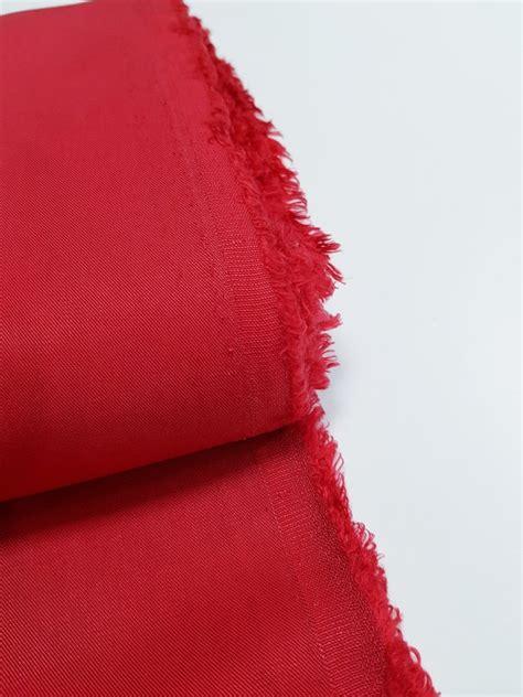 Tencels (Sarkans) - Tencela audumi - Veikals - My Textile