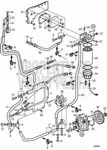 Volvo Penta Esploso Fuel System D9a2a  D9a2b  D9a2c  D9a2d