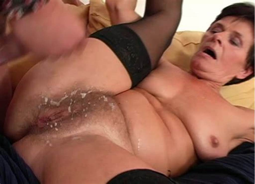 #Dirty #Granny #Is #Getting #Huge #Cumshot #On #Her #Hairy #Pussy