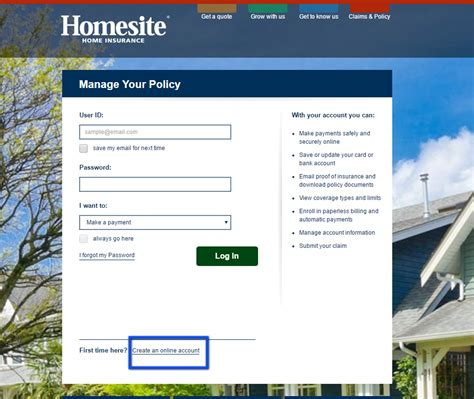 It was one of the first companies to market homeowners insurance through the internet. Homesite Home Insurance Login | Make a Payment