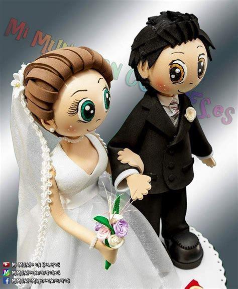 Novios fofuchos Dolly pegs Craft work Wedding cake toppers