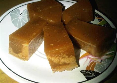 1bks agar2 plain 130ml santan instan(2 bks santan kara @65ml) 130gr gula. Resep Puding Santan Roti Gula Merah oleh Yanni Liang - Cookpad