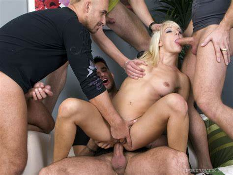 Orgies Breaks Out At Porn Gangbang Wit Ugly Blondes Lena Cova Knew Multiple Dps While Banging