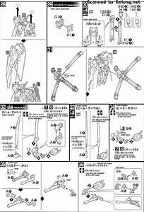 Hg Crossbone Gundam X1 Full Cloth Type Gbft English Manual